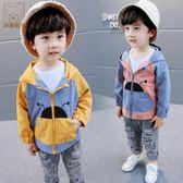 兒童外套 寶寶外套小童衣服春裝嬰兒童裝風衣0-1-3歲2男童沖鋒衣潮 寶貝計畫