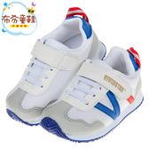 《布布童鞋》BABYVIEW活力樂跑白色透氣機能兒童運動鞋(16~18.5公分) [ O8Q38XM ]