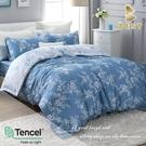 【BEST寢飾】天絲床包兩用被四件式 加大6x6.2尺 雙色羅曼史 100%頂級天絲 萊賽爾 附正天絲吊牌
