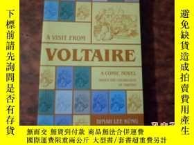 二手書博民逛書店英文原版【A罕見Visit from Voltaire】Y170