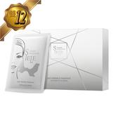 【雙12限定下殺】SIELE靚白緊緻眼膜禮盒(30片裝) 獨特造型可敷至眼尾及法令紋 雙重專利抗老因子