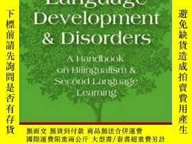 二手書博民逛書店Dual罕見Language Development And DisordersY256260 Genesee