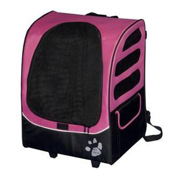 ★美國PET GEAR.【1280 加大版】多功能五合一寵物手拉車/寵物背包/推車/汽車安全坐椅,