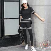 瑜伽服套裝女全館免運新品原創韓式跑步運動速幹衣大呎碼健身服四件套潮全館免運