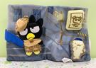 【震撼精品百貨】Bad Badtz-maru_酷企鵝~三麗鷗酷企鵝布書-藍偵探#64242
