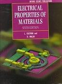 二手書博民逛書店 《Electrical Properties of Materials》 R2Y ISBN:0198562721│Oxford University Press, USA
