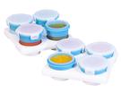 2angels 副食品矽膠儲存杯/ 冰磚盒超值組-60ml+120ml[衛立兒生活館]