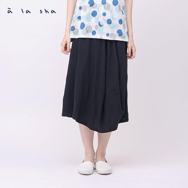 a la sha 創意剪接Hi烏龍圓圓裙