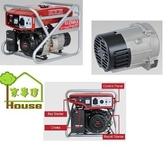 [ 家事達 ]日本原裝 ELEMAX -SV2800-D 澤藤引擎發電機-2800w-手動 特價 110V/220V 鋸機