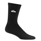 ADIDAS SUPER SOCKS 黑 小logo 中筒襪 (布魯克林) FM0719