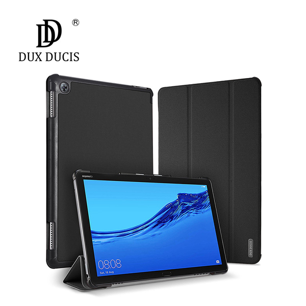 華為 HUAWEI MediaPad M5 Lite (10.1吋) Skin側掀站立 平板套 平板保護殼 保護套 支架