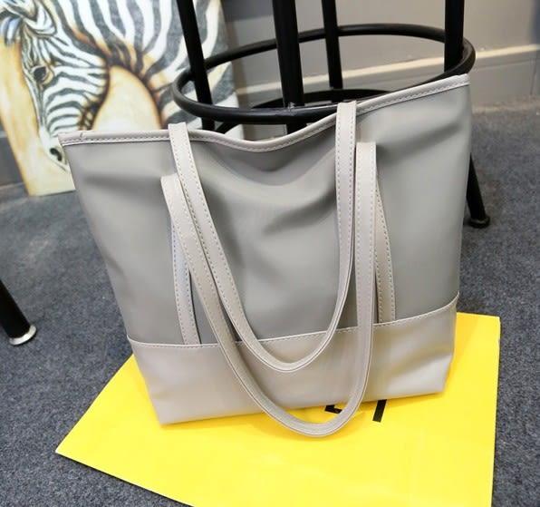 帆布女包韓版簡約防水牛津布休閒側背包手提大包包潮 黛尼時尚精品