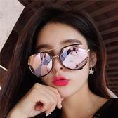 2018韓版新款網紅偏光墨鏡太陽鏡圓臉個性 ZL728『夢幻家居』