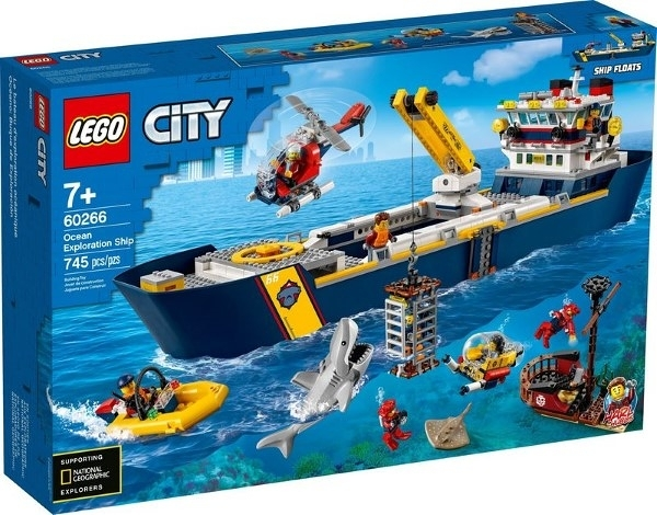 樂高LEGO CITY 海洋探索船 60266 TOYeGO 玩具e哥