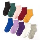 促銷 ins潮長襪子女韓國日系中筒襪純色百搭學生黑色白色夏季薄款短筒