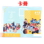 BTS防彈少年團 卡冊 愛豆卡 LOMO小卡片收集冊 卡包 E697-F【玩之內】田柾國 SUGA j-hope
