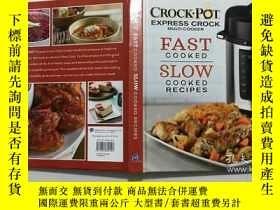 二手書博民逛書店Crockpot罕見Express Crock Multi-Cooker: Fast cooked slow co