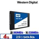 全新 WD 藍標 4TB SSD 2.5吋 3D NAND 固態硬碟