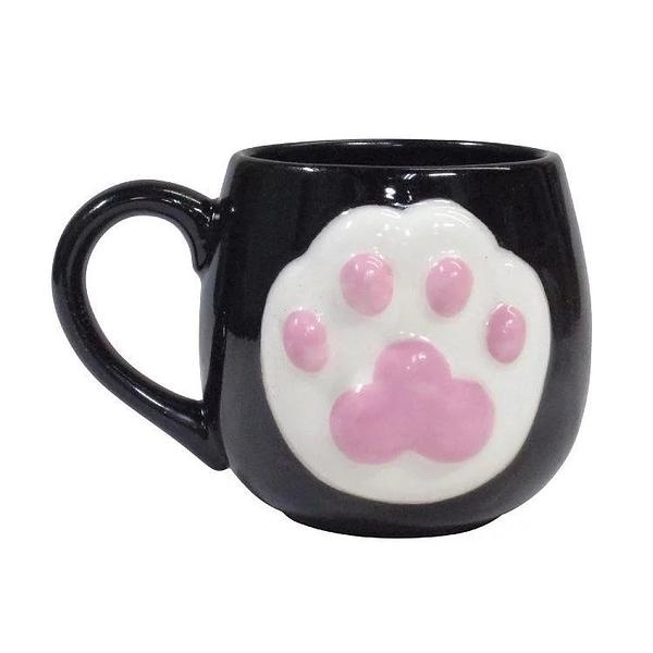 【sunart】日本sunart 馬克杯 - 黑貓 High five 趣味 送禮 可愛 貓咪系列