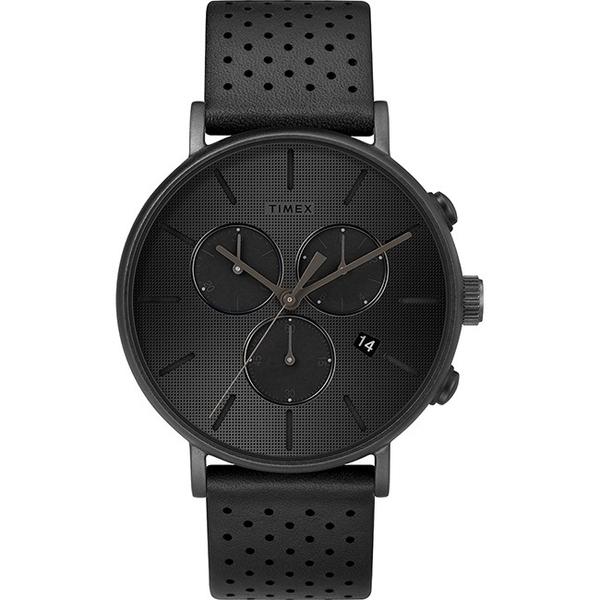【分期0利率】TIMEX 天美時 三眼錶 全黑 41mm 全新原廠公司貨 TXTW2R79800