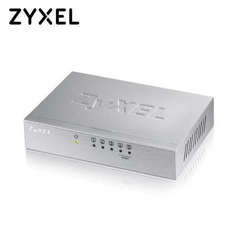 ZyXEL 合勤 5埠桌上型高速乙太網路交換器 ES-105A【本月促銷▼原價389】