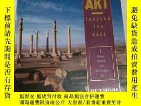 二手書博民逛書店GARDNER S罕見ART THROUGH THE AGES(