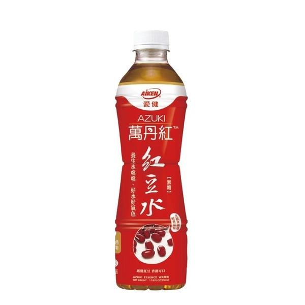 【南紡購物中心】愛健-萬丹紅紅豆水 530mlx24瓶/箱
