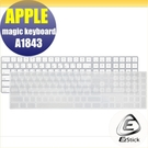 【Ezstick】APPLE Magic Keyboard A1843 數字鍵款 TPU鍵盤保護膜
