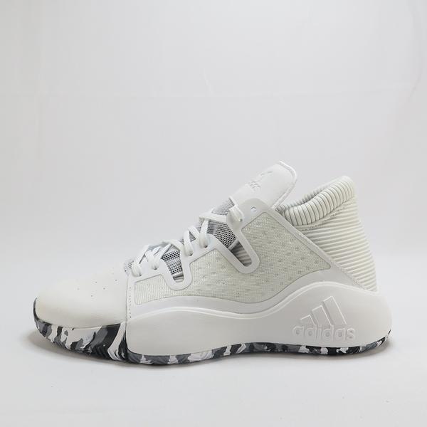 adidas PRO VISION 籃球鞋 EF0485 男款 白【iSport愛運動】