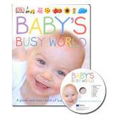 【麥克書店】BABY'S BUSY WORLD  /幼兒英文童書附CD《主題: 認知學習》