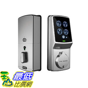 [107美國直購] 智能門鎖 Keyless Digital Door Lock (PGD 718) with Highly Secure Patented