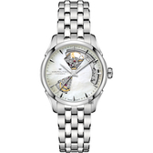 Hamilton 爵士開芯機械女錶-珍珠貝/36mm H32215190