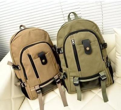 後背包 男士後背包包旅行李大容量休閒男土用青年帆布裝衣服的旅遊後背包 維科特3C