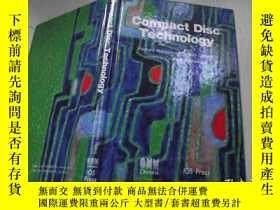 二手書博民逛書店Compact罕見Disc Technology 英文原版Y18