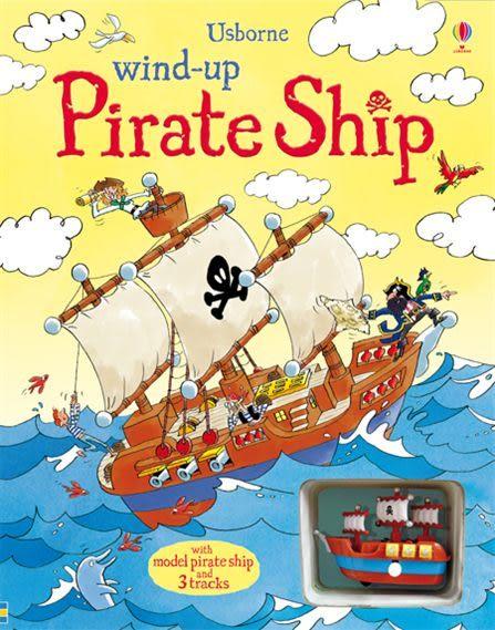 Wind-Up Pirate Ship 車車書:海盜船