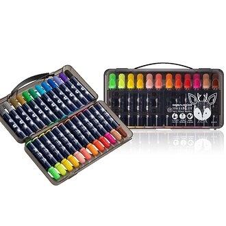 雄獅 毛毛獸 彩色筆 24色/盒 HAM-24