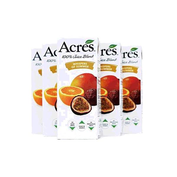 [COSCO代購,單次運費限購2組] 柳橙百香果綜合果汁 ACRES WHISPER OF SUMMER C103397