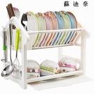 塑料放碗架碗碟瀝水架碗柜廚房置物架...