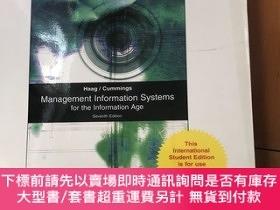 二手書博民逛書店Management罕見Information system (seventh edition)Y459096