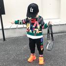 男童秋裝套裝2019新款兒童韓版洋氣童裝寶寶衛衣兩件套春秋衣服潮