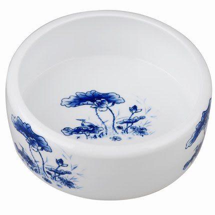 青花瓷大茶洗大號特價(白色)