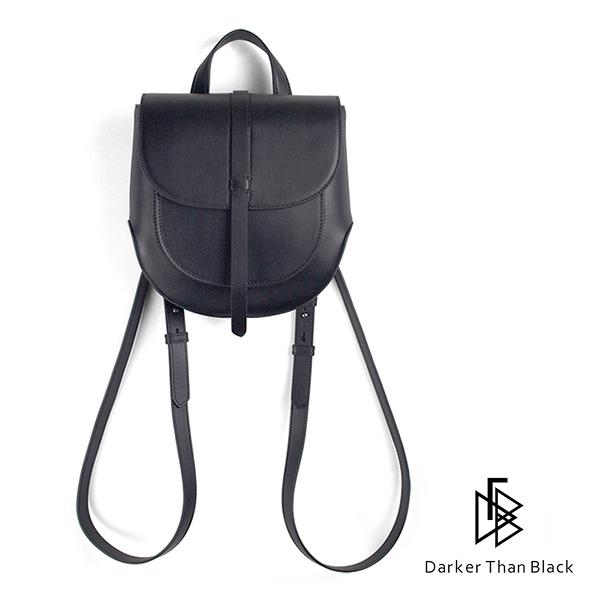 DTB|Eraser 短款圓弧後背包 - 黑