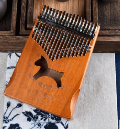 特惠拇指琴拇指琴卡林巴琴17音手指琴初學者樂器便攜式卡淋巴琴sparter