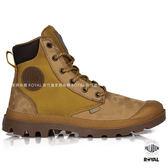 Palladium 新竹皇家 Pampa Sport 琥珀棕 防水系列 皮革 尼龍 軍靴 男女款 NO.B0118