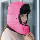 騎車帽 護耳帽 雷鋒帽 滑雪帽 包頭帽 毛帽 自帶口罩 圍脖 防寒雷鋒帽 【G009-1】生活家精品