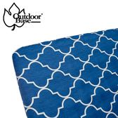 Outdoorbase 歡樂時光充氣床墊床包套L號-舒柔布 26299 花色隨機 床罩 床套 床單 保潔【易遨遊】
