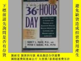 二手書博民逛書店英文原版罕見The 36-Hour Day by Peter V