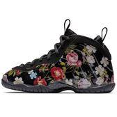 NIKE LITTLE POSITE ONE PRM PS 童鞋 中童 籃球 休閒 花卉 黑 彩 【運動世界】AT8249-001