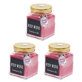 (組)日本John s Blend芳香膏3入組-紅酒135g