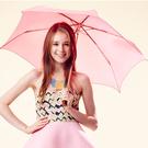 SUNSOUL/HOII/后益---新光感(防曬光能布)---陽傘 UPF50+ 紅光【有機樂活購】